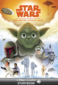 Lucasfilm Press: The empire strikes back : Read Along Storybook