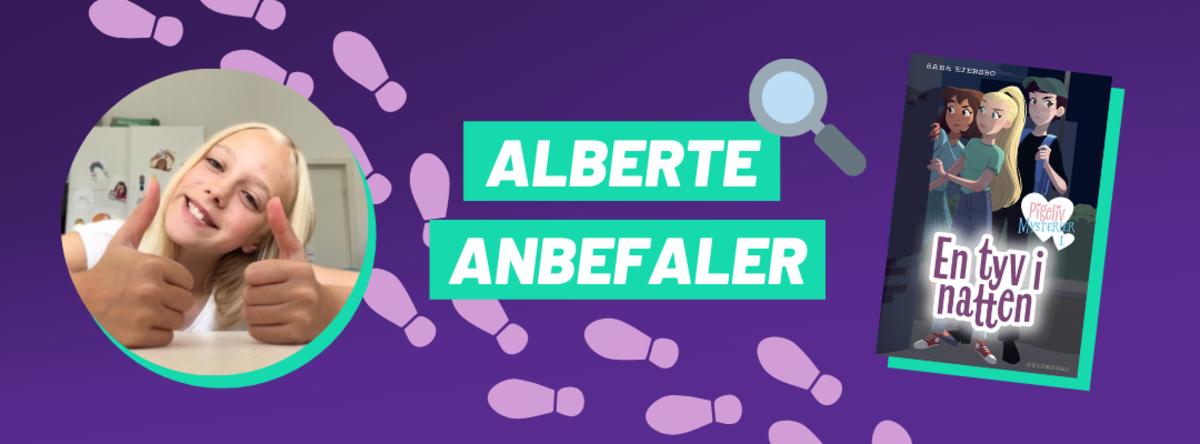 Alberte anbefaler
