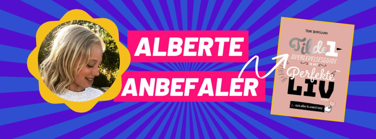 Alberte anbefaler - grafik