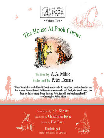 A. A. Milne: The house at pooh corner