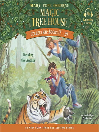 Mary Pope Osborne: Magic tree house collection, books 17-24 : Tonight on the titanic; buffalo before breakfast; tigers at twilight; dingoes at dinnertime; civil war on sunday; revolutionary war on wednesday; twister on tuesday; earthquake in the early morning