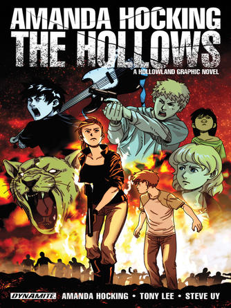 Amanda Hocking: Amanda hocking's the hollows : A Hollowland Graphic Novel