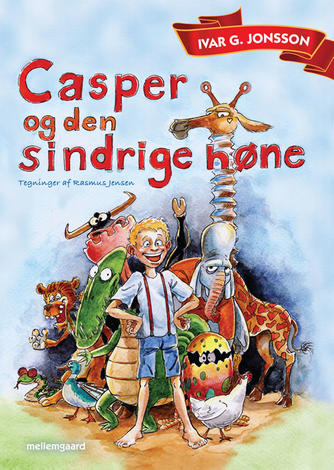 Ivar G. Jonsson: Casper og den sindrige høne