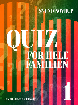 Svend Novrup: Quiz for hele familien