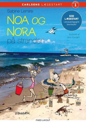 Sabine Lemire: Noa og Nora på stranden
