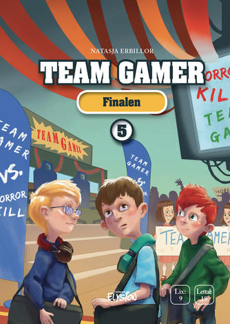 Natasja Erbillor: Team Gamer - finalen