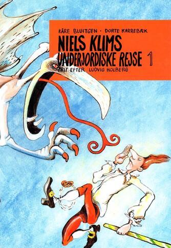 Ludvig Holberg: Niels Klims underjordiske rejse. 1, Faldet til Jordens indre