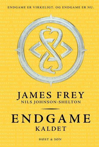 James Frey (f. 1969): Endgame - kaldet