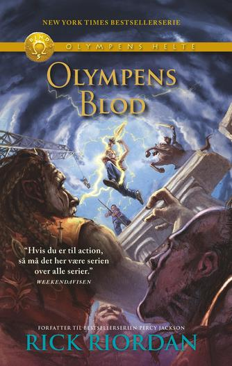 Rick Riordan: Olympens blod