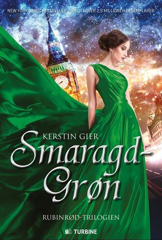 Kerstin Gier (f. 1966): Smaragdgrøn : kærlighed går gennem alle tider