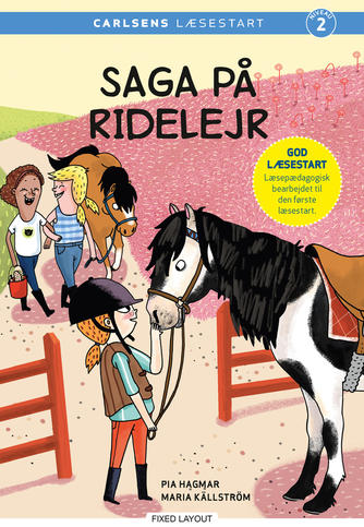 Pia Hagmar: Saga på ridelejr