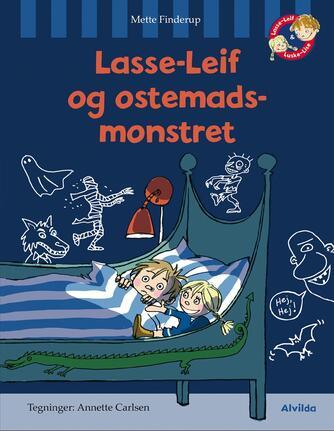 Mette Finderup, Annette Carlsen (f. 1955): Lasse-Leif og ostemadsmonstret