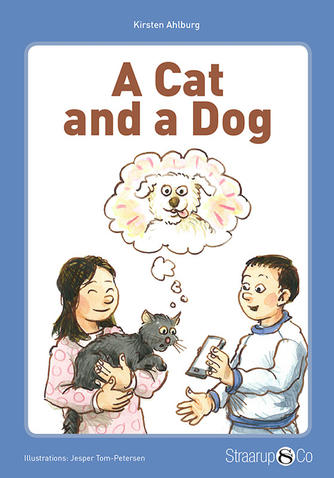 Kirsten Ahlburg: A cat and a dog