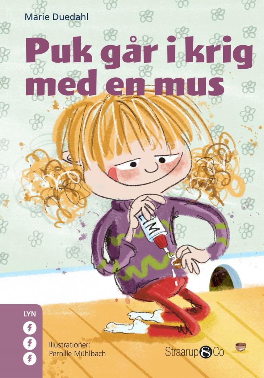 Marie Duedahl: Puk går i krig med en mus