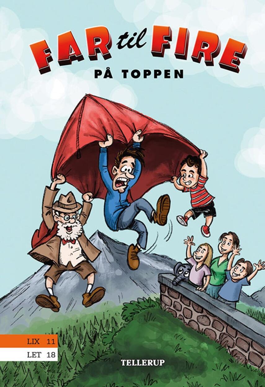 Jesper W. Lindberg: Far til fire på toppen