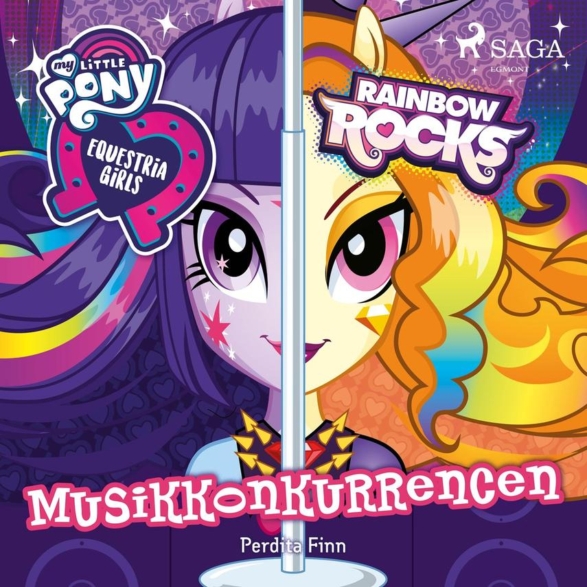 Perdita Finn: My little pony - Equestria girls - musikkonkurrencen