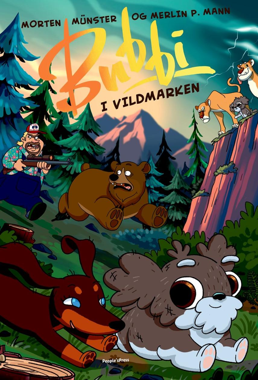 Morten Münster (f. 1997), Merlin P. Mann: Bubbi i vildmarken