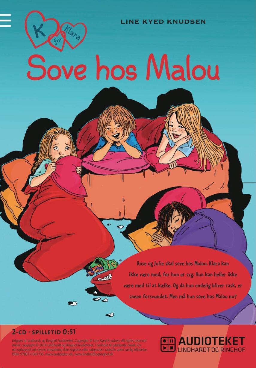 Line Kyed Knudsen: Sove hos Malou