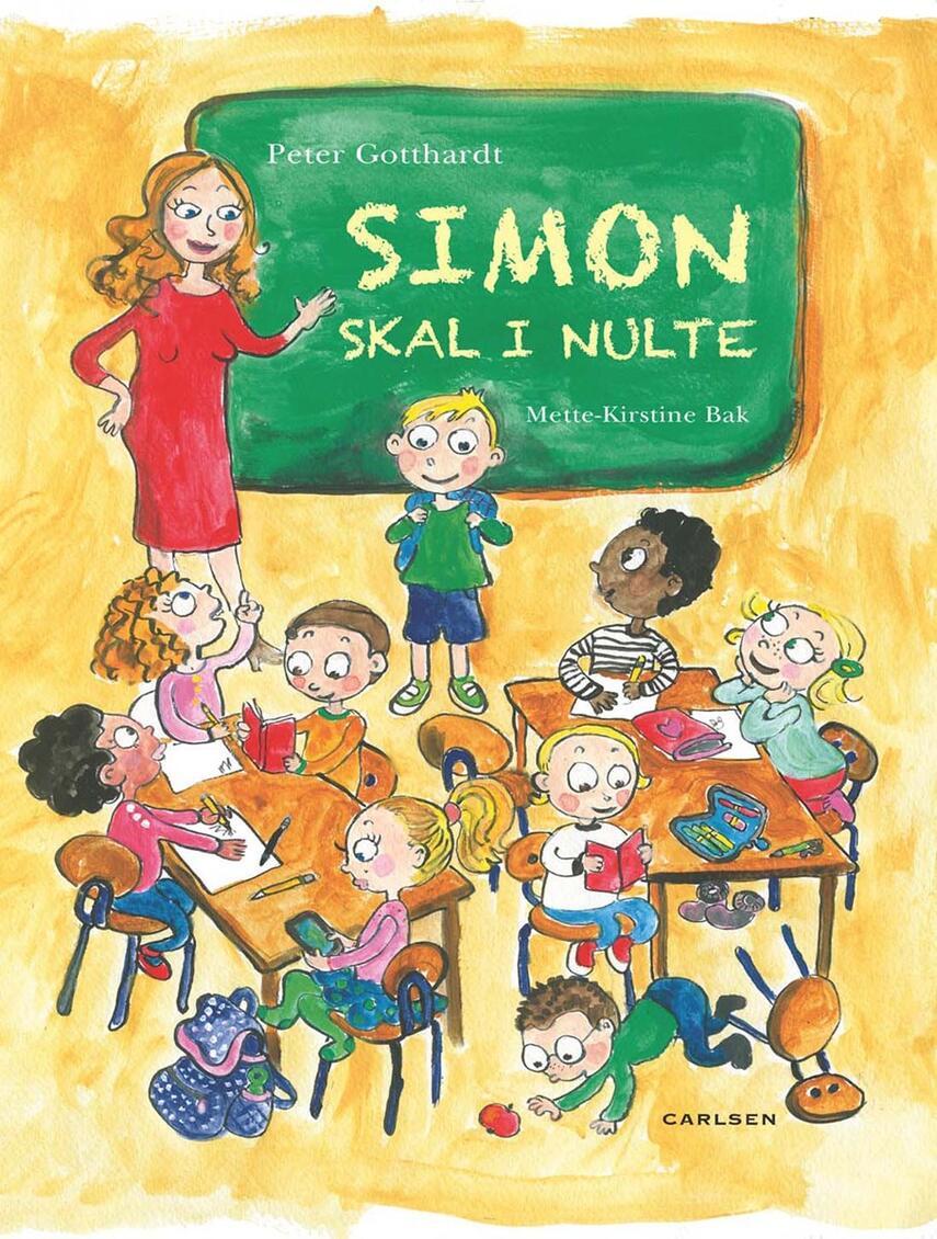 Peter Gotthardt, Mette-Kirstine Bak: Simon skal i nulte