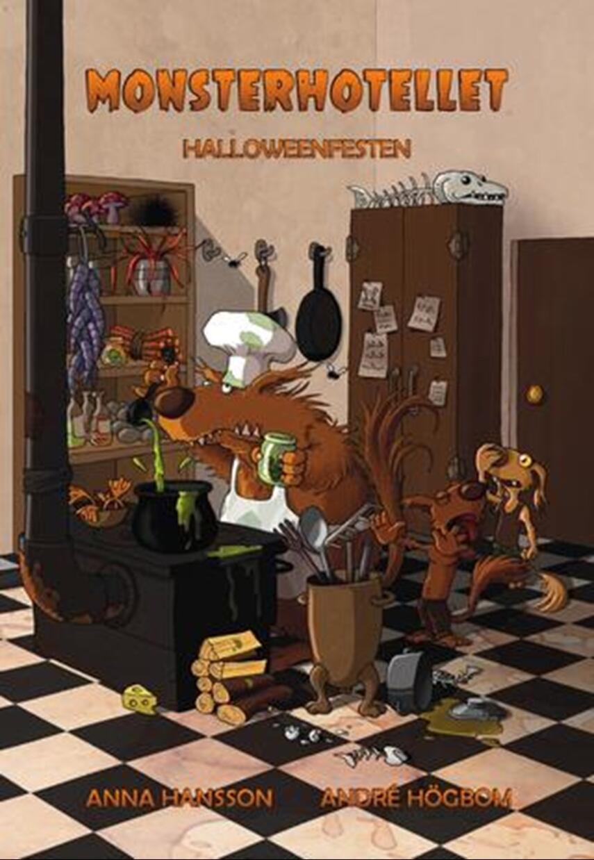 Anna Hansson: Monsterhotellet - halloweenfesten