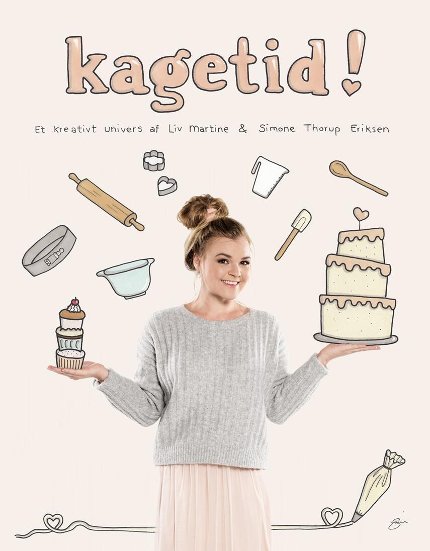 Liv Martine Hansen, Simone Thorup Eriksen: Kagetid! : et kreativt univers