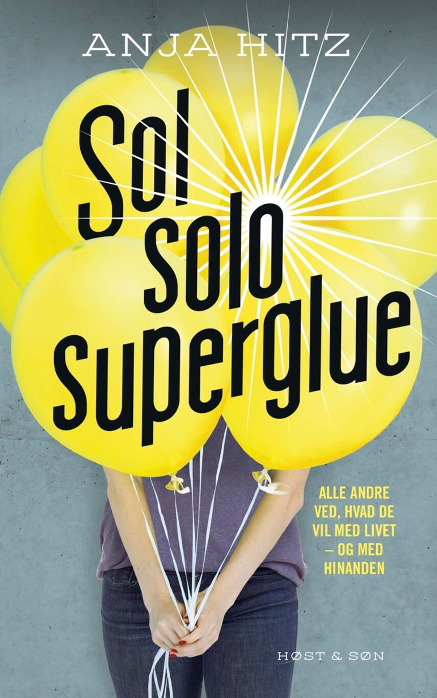 Anja Hitz: Sol, solo, superglue