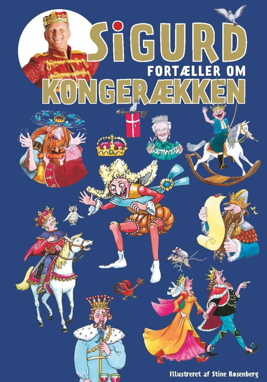 Sigurd Barrett: Sigurd fortæller om kongerækken