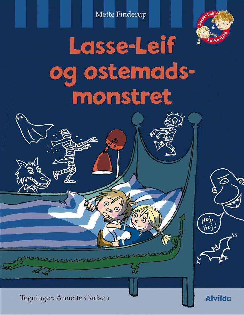 Mette Finderup: Lasse-Leif og ostemadsmonstret