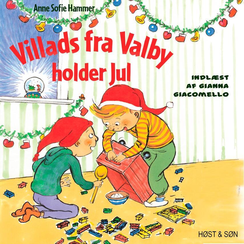 Anne Sofie Hammer (f. 1972-02-05): Villads fra Valby holder jul